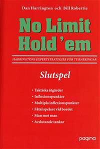 No Limit Hold'em, Slutspel- Harringtons expertstrategier för turneringar